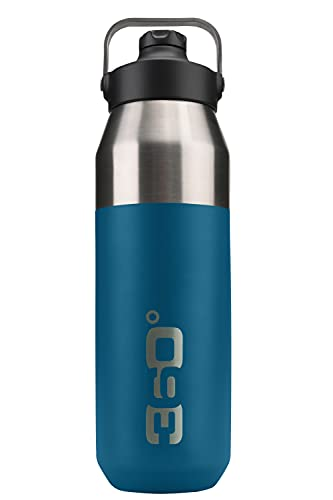 Borraccia isolata larga + bocca stretta con tappo magnetico Bottiglia, Adulti Unisex, Zucca, Taglia unica