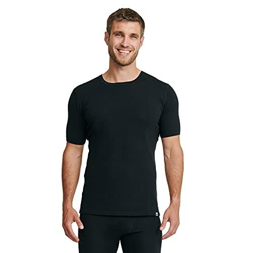 Men\'s Merino T- Shirt 1 Pack 3XL Black 1-Pack
