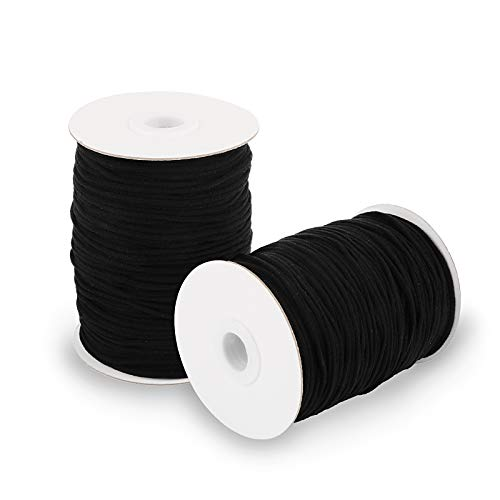Cuerda Elastica 3Mm Negra Marca UFLF