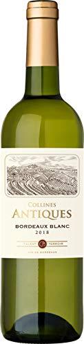 Collines Antiques, Bordeaux, vino bianco secco, annata 2018, 750 ml