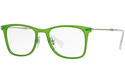 Ray-Ban RX7086 Gafas 49-18-140 Verde con Lentes de Muestra 5643 RB7086