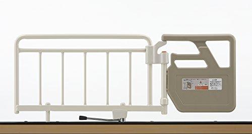 【フランスベッド正規品】 ベッドガード ベッド柵 アイボリー 長さ117cm 【ベッド用グリップ GR-510 IV】 1本入り 自立支援バー 立ち上がりの補助に 036874000