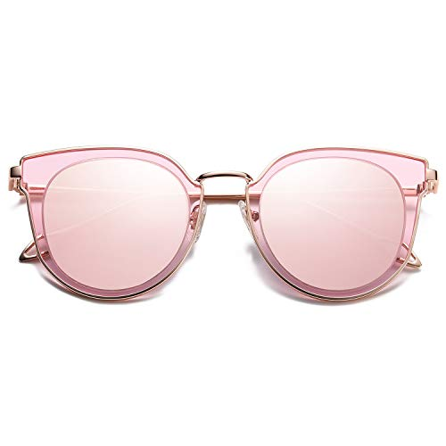 Pink plastic fashion sunglasses stocking stuffer ideas for teenage girls