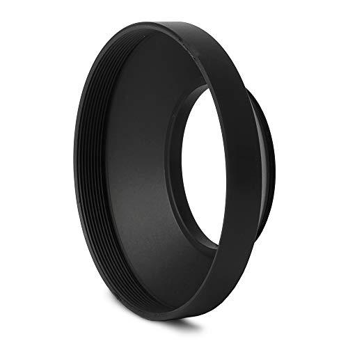 CELLONIC® Weitwinkel Gegenlichtblende Ø 40,5mm Black kompatibel mit Nikon Nikkor Objektiv Zubehör Sonnenblende Kamera Streulichtblende