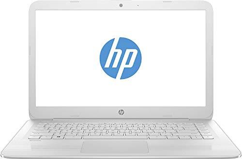 HP Stream 14-ax054na 14' Light Weight Laptop, Intel Celeron N3060, 4GB RAM, 32GB eMMC storage, Intel HD Graphics 400, Windows 10 Home - UK Keyboard Layout (Renewed)