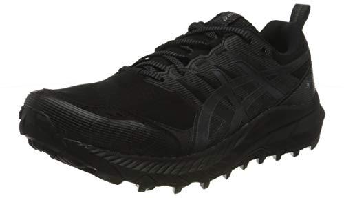 Asics Gel-Trabuco 9 G-TX, Trail Running Shoe Hombre, Black/Carrier Grey, 44 EU