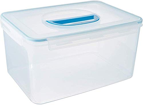 Komax Biokips Extra Large Food Storage Container (48.6-Cups) | Airtight Container for Flour, Rice, Sugar, Baking Supplies, Bulk and Pet Food | BPA-Free Food Bucket With Locking Lid & Handle