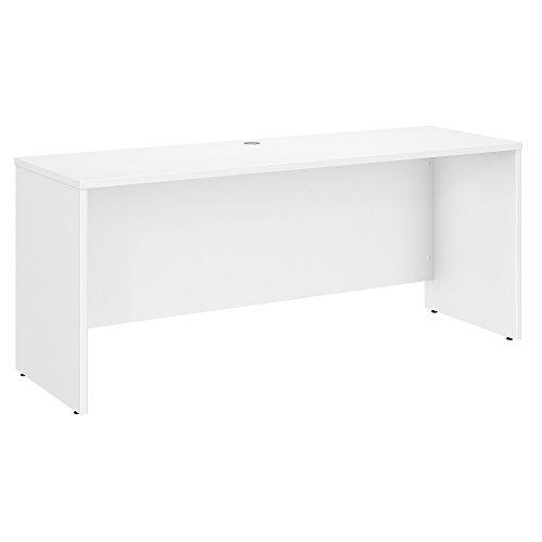 Bush Business Furniture Studio C 60W x 24D Credenza Desk in White