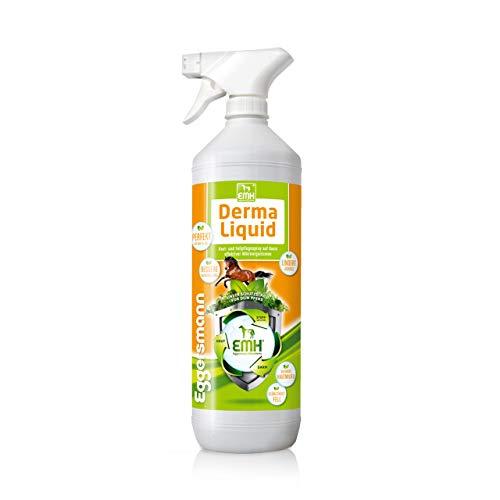 Eggersmann EMH Derma Liquid – Flüssigkonzentrat für Haut & Haar – Pferdepflege Spray für Hautirritationen – 1 L Flasche