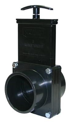 """Valterra 7303 ABS Gate Valve, Black, 3"""" Spig from Valterra Products"""