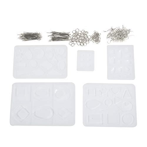 Crystal Epoxy Mould Kit, hochtransparente Silikon-Epoxyform, langlebig, wiederverwendbar, einfach zu verwenden für Kinder, Kinder