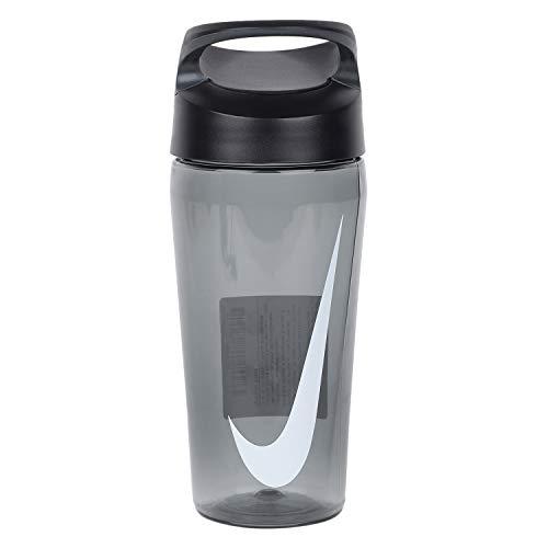 Nike Hypercharge Straw Bottle-Sipper- Grey, 470ml
