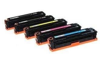 Set di 5 Compatibili HP 131A CF210A CF211A CF212A CF213A 131A Toner per HP LaserJet Pro 200 Colore M276n M276nw Stampanti, set completo - 2 x Nero, 1 Ciano, 1 Magenta,1 Giallo