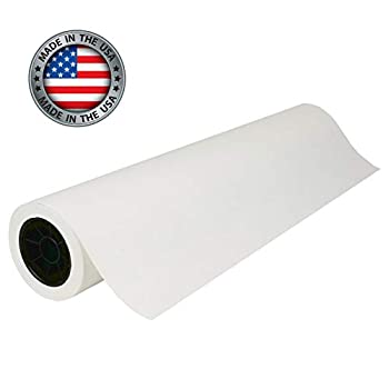 White Kraft Paper Roll | 36  x 200   2400   | Best Craft Paper for Wall Art Bulletin Board Table Runner Gift Wrapping Painting and Packing | Made in USA