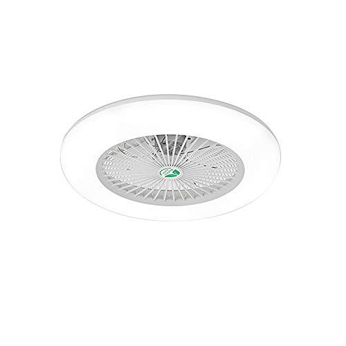 Lixada Deckenventilator mit Beleuchtung LED-Licht Einstellbare Windgeschwindigkeit mit Fernbedienung Ohne Batterie 36W Moderne LED-Deckenleuchte für Schlafzimmer Wohnzimmer Esszimmer, Weiß