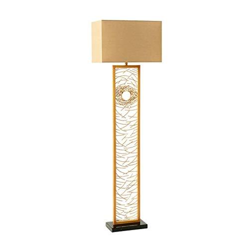 LY88 Licht? Postmoderne Slaapkamer Vloerlamp Goud Verticale Luminaire Woonkamer Retro Decoratie Staande Licht