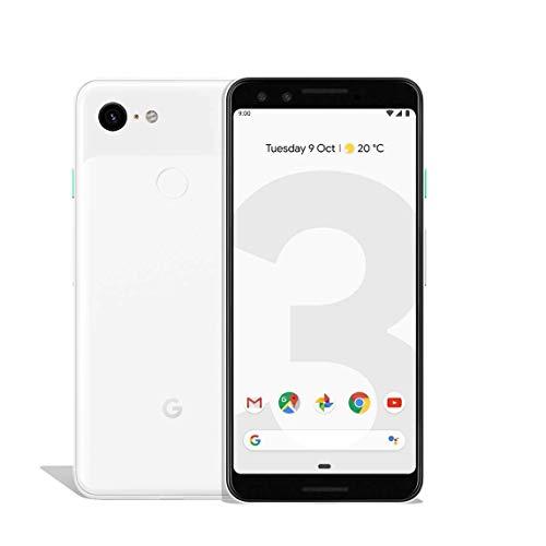 Google Pixel 3 Handy Smartphone 5,5 Zoll 64GB 12,2 MP Kamera Touchdisplay, Farbe:Weiß (White) (Generalüberholt)