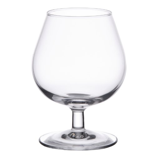 Arcoroc ARC 62661 Degustation Cognacschwenker, Cognacglas, 250ml, Glas, transparent, 6 Stück