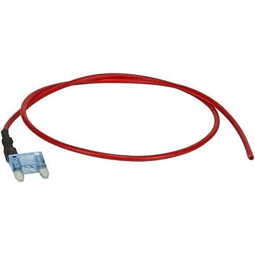 Preisvergleich Produktbild tomzz Audio 5800-060 Standard Mini Flachsteck Sicherung mit Kabel Abgriff 15A
