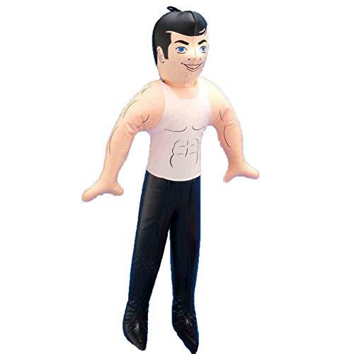 Bachelorette Party Favor Inflatable Hunk John Doll