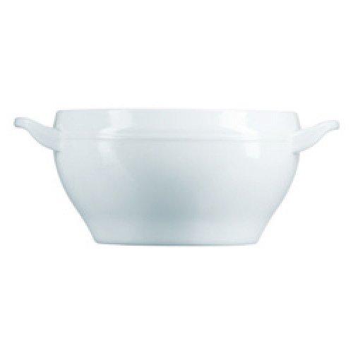 Dajar Taza sopera de 450 ml Trianon, Luminarc, cristal blanco, 12 cm
