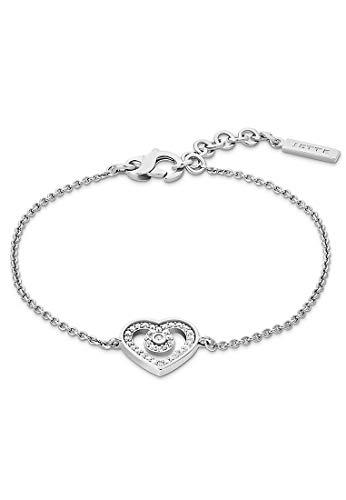 JETTE Silver Damen-Armband Silber 36 Zirkonia One Size Silber 32012085