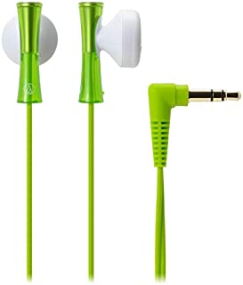 Audio-Technica ATH-J100 Wired Earphone, Light Green