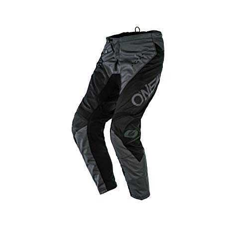 O'Neal Element Racewear Moto Cross Hose MX Enduro MTB DH Downhill Freeride Trail All Mountain Bike, E010, Farbe Schwarz Grau, Größe 28