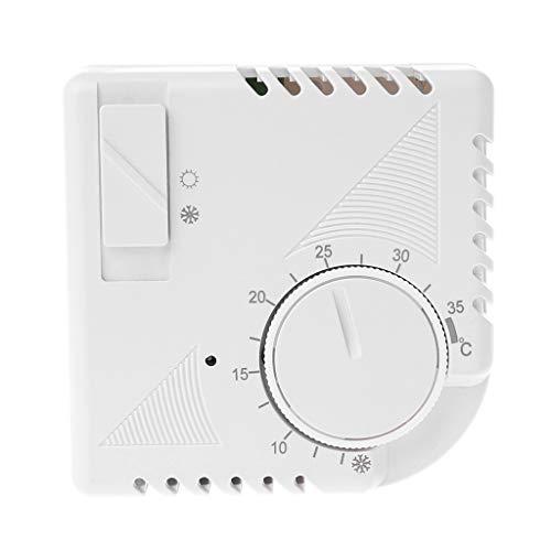 BASSK Termostato universal de ahorro de energía con interruptor
