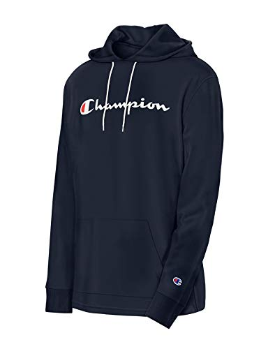 Champion Men's MIDDLEWEIGHT Hoodie, Navy, Small