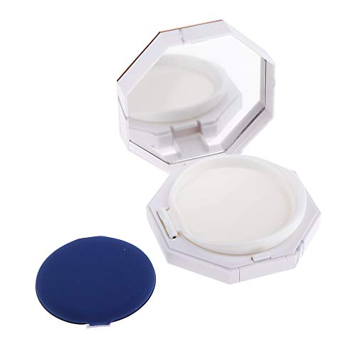 Sharplace Étui à Crème Glacée BB Puff Box Foundation Powder Box De Coussin Éponge - 28 mm de hauteur