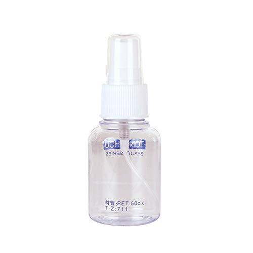 AIUIN Flacon Vaporisateur, Vide Flacon Pulvérisateur Spray Distributeur de Maquillage Pour Huiles Essentielles, Voyage, Parfums (50ml)