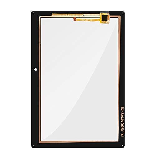 Monitor de Pantalla Plana Sensor de Vidrio del Panel del Digitalizador de la Pantalla táctil/Ajuste for la pestaña Lenovo 2 A10-30 YT3-X30 X30F TB2-X30F TB2-X30L (Color : Black)