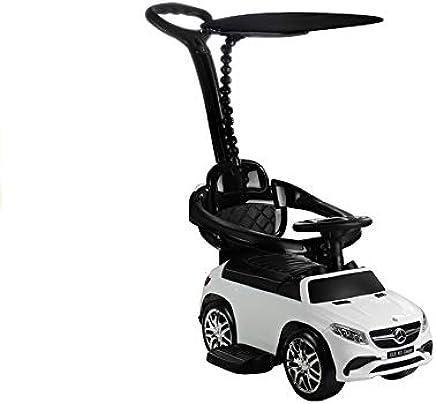 Lean Toys - Balancín Mercedes GLE 63 con Parasol, Color Blanco