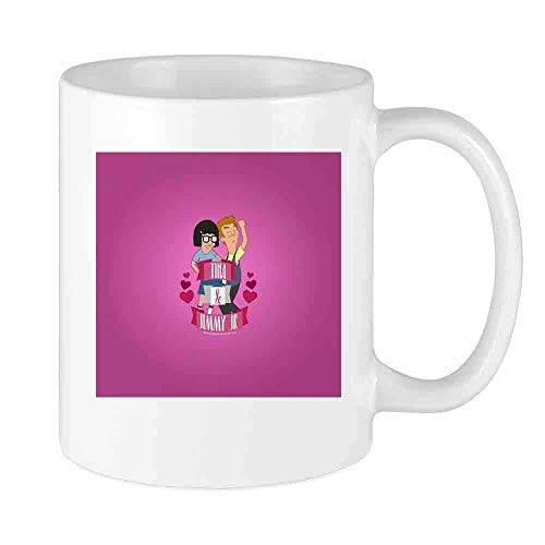 Taza de café Bobs Hamburguesas Jimmy Jr Taza personalizada Vacaciones únicas de cerámica Novedad que aman las tazas de té Taza de café