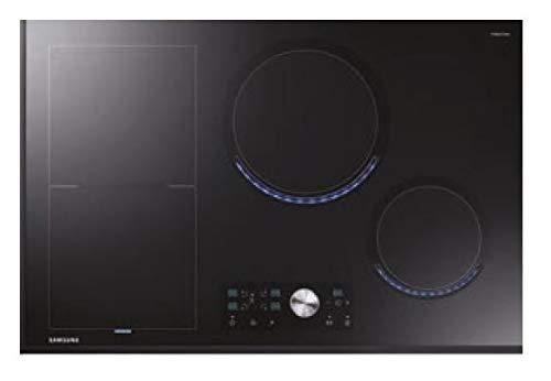 Samsung - Plaque de cuisson à induction NZ84T9770EK finition vitrocéramique noire de 80 cm.
