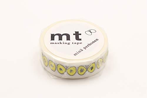 mt×mina perhonen 15mm×10m MTMINA03 [choucho・yellow]