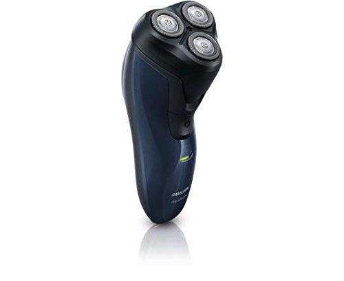 Philips AquaTouch AT620 - Afeitadora (Botones, HQ56, 2 año(s), Negro, Azul, De plástico, AC/Batería)