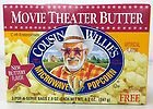 Cousin Willie Movietheater Butter Microwave Popcrn 8.7 oz (Pack of 12)