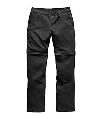 The North Face Women's Paramount Convertible Pant, TNF Black, Size 12 Regular