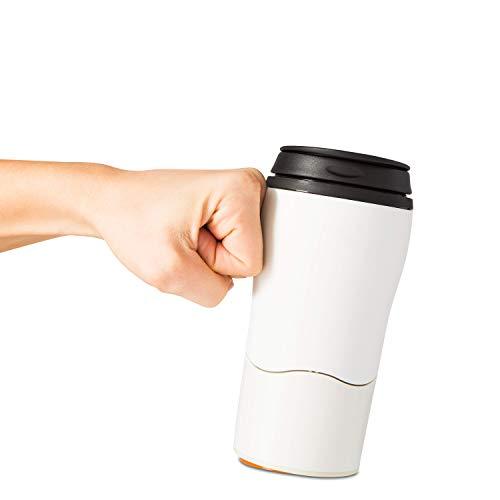 Mighty Mug Dexam, Plastique, crème, 6x6x15 cm