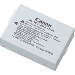 Top cannon lp-e8 battery for 2021