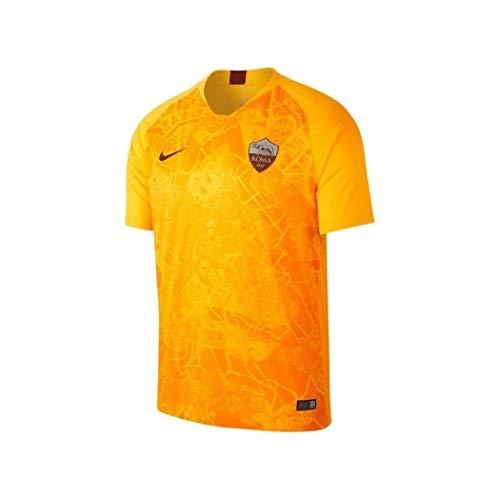 of nike soccer shirts Nike 2018-2019 AS Roma Third Football Soccer T-Shirt Jersey (Kids)