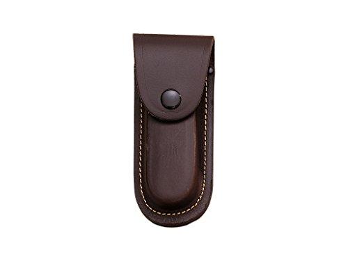 Joker Funda Grande de Cuero marrón para Navaja, tamaño 40 x 130 mm FB05
