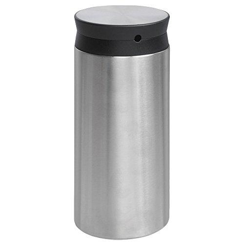 Viesta Milchkühler MK60, Edelstahl-Isoliermilchbehälter 0,6 l für Kaffeevollautomaten, Thermo Milchbehälter