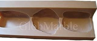 GlobMarble River Rock Stone Mold RS 4001/3 Corner