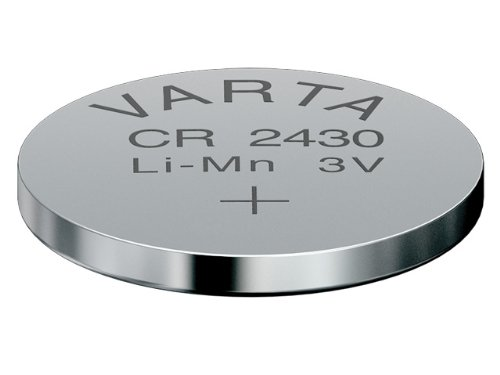 Varta CR 2430 Nickel-Oxyhydroxide (NiOx) 3V non-rechargeable battery - Non-Rechargeable Batteries (Nickel-Oxyhydroxide (NiOx), 3 V, 1 pc(s), 280 mAh, 24 mm, 24 mm)