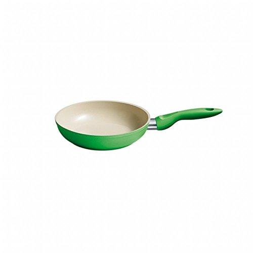 Kelomat Pfanne Cera Color, Kochpfanne, mit Keramikbeschichtung, rund, Ø 20 cm, grün