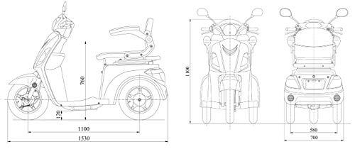 Elektromobil VITA CARE 1000 Seniorenmobil Bild 2*