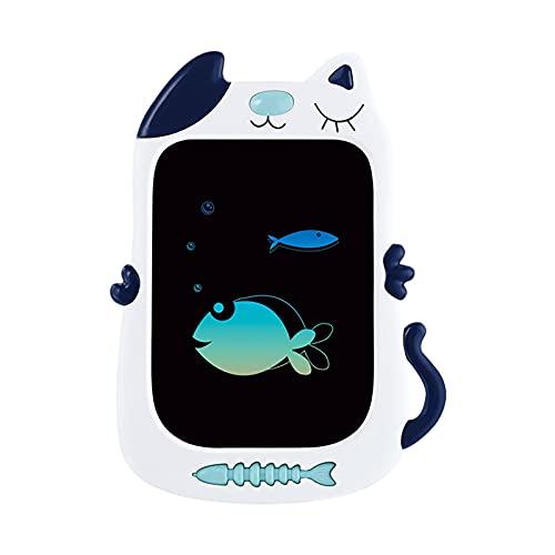 Tableta de dibujo gráfico, borrable portátil Doodle Board LCD digital ideal para el trabajo desde casa y aprendizaje remoto (azul)